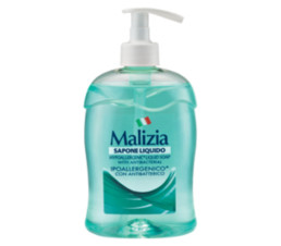 Malizia Мыло жидкое HYPOALLERGENIC WITH ANTIBACTERIAL 500 мл.